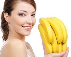 Как сделать маску на лицо из банана
