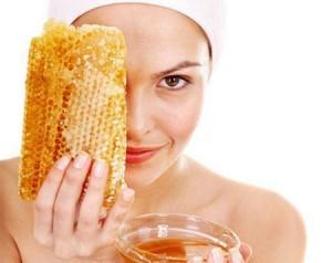 Маска из меда для лица