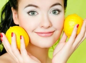 Пилинг для лица лимоном