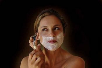 Как убрать рост волос на лице