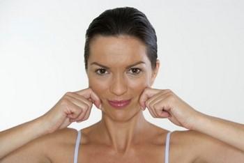 Зарядка для похудения лица