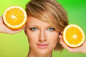 Маска из апельсина для лица: результат