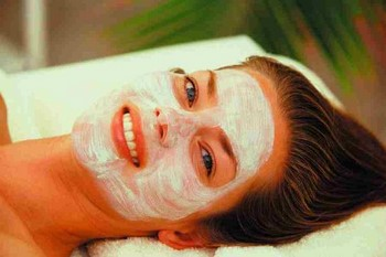 Маска для лица питательная для сухой кожи