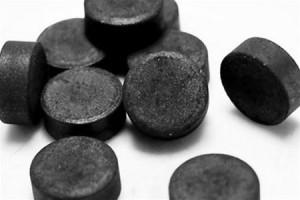 Маска от прыщей из угля