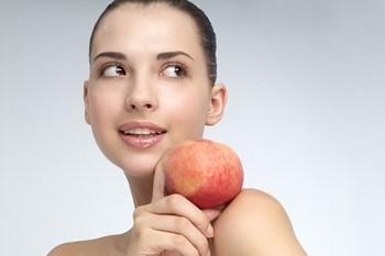 Маски из персиков для лица: результат