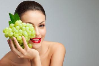 Виноград для лица: результаты
