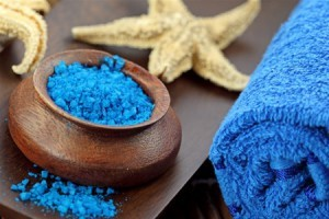 Маска-скраб для лица из морской соли