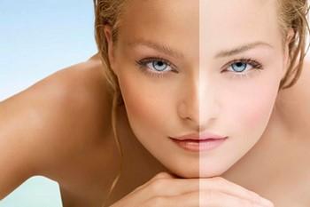 Как осветлить кожу лица в домашних условиях