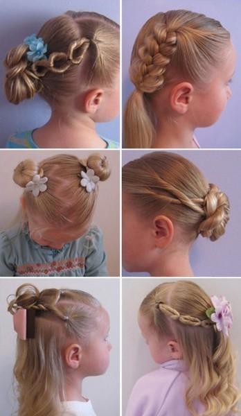 Прически маленьким девочкам 4 года фото
