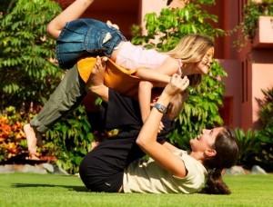Отдых с детьми на природе и дома